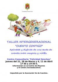 "Taller intergeneracional ""cuento contigo""."