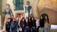 Grupo de alumnos con sus profesoras