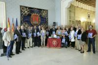 Miembros de las distintas Hermandades acudieron a la presentación de la Revista Pasión.