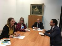 Reunión de hoy sobre coordinación de actividades para Santa Faz