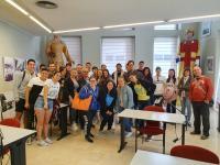 Alumnos del instituto Doctor Balmis de Alicante