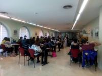 Alumnes del l'institut Jorge Juan d'Alacant
