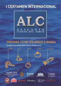 Cartel del concurso, con los logos de las entidades y marcas colaboradoras