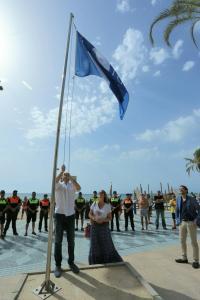 Alicante recupera la Bandera Azul de la playa de Tabarca tras más de una década reivindicando su excelencia.