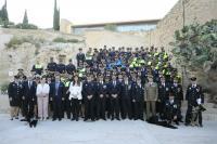El alcalde anuncia la ampliación de la Unidad Fox en la celebración del 172 aniversario de la Policía Local de Alicante