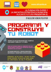 Alicante Futura. Taller de robótica