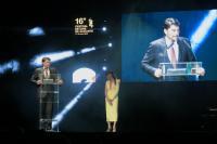 Luis Barcala en el Festival Internacional de cine de Alicante