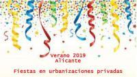 Fiestas Urbanizaciones Privadas - Agosto 2019