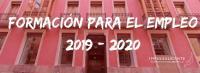 Formación para el Empleo Año 2019