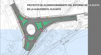 Plano del proyecto de renovación del entorno de la Isleta.