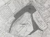 Plano del yacimiento arqueológico de Lucentum.