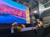La vicealcaldesa de Alicante, Mari Carmen Sánchez, intervino en la inauguración en el Centro de Tecnificación del Congreso Mundial de Medicina Fetal.