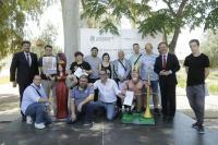 Colonia Requena volverá a tener una hoguera con la que no contaba desde 1999 por la donación del monumento construido por los alumnos del Curso de Aprendiz de constructor de Hogueras.