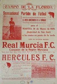 Cartell de fútbol 1929