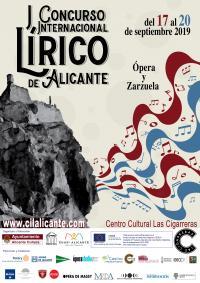 I Concurso de Lírica de Alicante