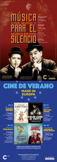 Cine de Verano en Cigarreras 2019