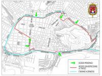 El circuito está previsto que quede restringido a partir del martes 18 de Junio a partir de las 7:00 horas y se abra a las 8:00 horas del día 25 de junio.