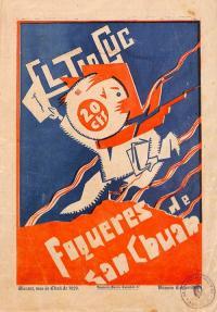 El Tio Cuc Fogueres 1929