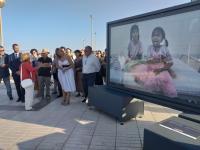 """El Ayuntamiento de Alicante y la Fundación Bancaria """"la Caixa"""" junto con la Fundación Vicente Ferrer convierten Alicante en un museo a cielo abierto"""