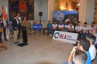 Intervención del alcalde, Luis Barcala.