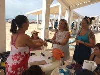 Playa accesible en el Cocó -Postiguet-