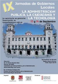 IX Jornadas de Gobiernos Locales