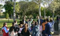 Itinerario ambiental con escolares