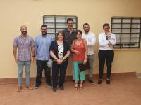 La concejala Julia Llopis encabezó la visita de algunos grupos municipales al CAI