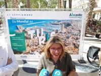 Mª Carnen Sánchez presenta el Día del Turismo