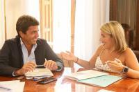 Mari Carmen Sánchez y Carlos Mazón apuestan por el turismo de cruceros