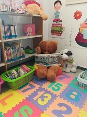 Sección para bebés en la Sala Infantil
