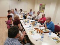 Reunión Junta Directiva Centros Mayores y Concejala Acción Social y Familia