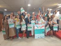 Los colaboradores, en la Sala de Prensa del Ayuntamiento de Alicante
