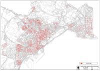Mapa de las calles por las que podrán circular los Vehículos de Movilidad Personal