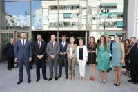 Luis Barcala y representantes de la Diputación de Alicante y de la Generalitat