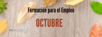 Formación para el Empleo Octubre 2019