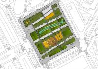 Proyecto de urbanización de la plaza de la Ciudad de la Justicia