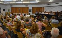 Asistentes a una jornada en Alicante sobre prevención del suicidio, donde se puso de manifiesto la vulnerabilidad de algunos colectivos