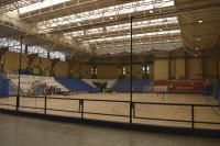 """Imagen actual de la pista del polideportivo """"Pitiú"""" Rochel"""