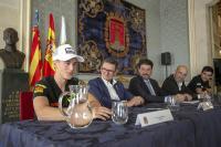 Acto de presentación en Alicante del Gran Premio Motul de la Comunidad Valenciana