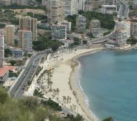 Playa de la Albufereta desde la Serra Grossa