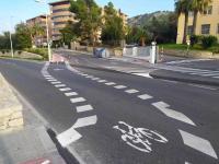 Via ciclista Avenida de Denia