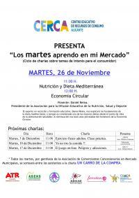 cartel charla 26 de noviembre