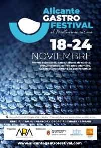 Cartel Alicante Gastro Festival