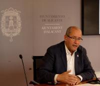 El edil de Tráfico, José Ramón González