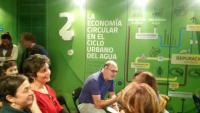 El concejal de Medio Ambiente, Manuel Villar, durante su visita al Museo de Aguas de Alicante