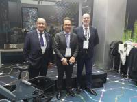 Los concejales José Ramón González, Antonio Peral y Manuel Villar