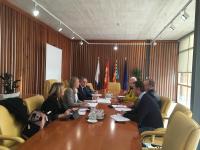 Momento de la reunión de la Comisión de Hacienda del Ayuntamiento de Alicante