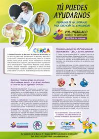 Cartel voluntariado CERCA