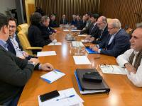 El Alcalde de Alicante reunido con los Concejales de Urbanismo, Medio Ambiente, Seguridad, Comercio y Ocupación de la Vía Pública